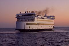 Island Home at dawn (allendc33) Tags: ferry marthasvineyard