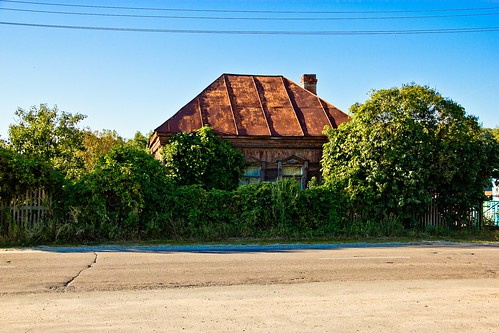 Wooden house. Laskovo. Ryazan region.