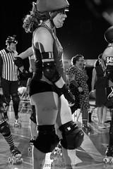 rebels_vs_panic_L1063666 1 (nocklebeast) Tags: ca usa santacruz rollerderby rollergirls zombies vampires skates organicpanic santacruzderbygirls redwoodrebels