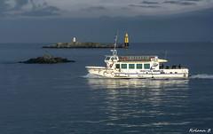 Cap sur l'le de Batz (Herb) Tags: sea mer boat roscoff bretagne bateau manche ledebatz