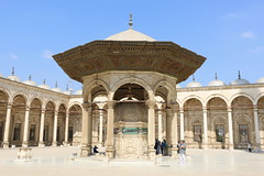 Well For Purification, Courtyard, Mosque of Muhammad Ali, The Citidel, Cairo, Egypt, 2015 (travfotos) Tags: cairo ottomanarchitecture alabastermosque egyp mosqueofmuhammadali citadelofcairo muhammadalipasha mosqueofmohamedali mohamedalipasha tusunpasha