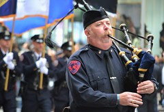 New York's Boldest (KaDeWeGirl) Tags: newyorkcity manhattan pipe band parade midtown bagpipes fifthavenue veteransday nycd