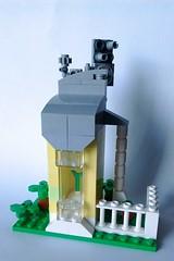 LEGO Plant Pod (wesleyobryan) Tags: city overgrown ruins lego vignette apocalego
