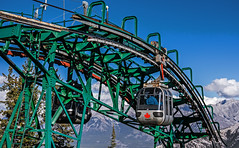 Sulphur Mountain Gondola (DCZwick) Tags: canada rockies alberta cablecar banff gondola rockymountains sulphurmountain banffnationalpark canadianrockies banffpark sulphurmountaingondola pentaxk3 sigma183518art