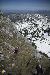 Scrambling I (HendrikMorkel) Tags: mountains hiking backpacking mountaineering montenegro bosniaandherzegovina magli dinaricalps viadinarica