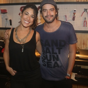"""É namoro, estou muito feliz"", diz Giselle Itié sobre Guilherme Winter"