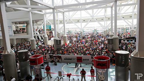 Anime Expo 2014 Day 1