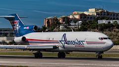 Amerijet 727F (Green 14 Pictures ) Tags: classic airport aviation boeing sintmaarten avgeek amerijet 727f freigther avporn