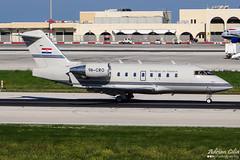 Croatia Government --- Bombardier CL-600 Challenger 604 --- 9A-CRO (Drinu C) Tags: plane aircraft aviation military sony croatia government dsc challenger 604 mla bombardier bizjet privatejet cl600 lmml 9acro hx100v adrianciliaphotography