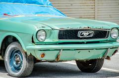 A Rusty Mustang (Ryukyujin) Tags: green car japan rust aqua okinawa mustang    chatan