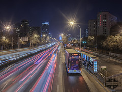 Beijing Landmark Hotel - 14-Dec-2016 (f/13 photography) Tags: hasselblad zeiss distagon cfe t 40mm f4 f40 phase one xf iq3 100mp beijing landmark hotel china cityscape light trails night long exposure