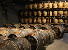 Old Barrels of Hennessy Cognac (big_jeff_leo) Tags: hennessy barels old storeroom french france