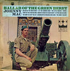 Ballad Of The Green Beret (Jim Ed Blanchard) Tags: lp album record vintage cover sleeve jacket vinyl weird funny strange kooky ugly thrift store novelty kitsch awkward ballad green beret johnny mac barry sadler cannon gun military sergeant stripes