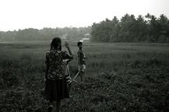 village kids (akhilmekkat) Tags: village india kerala meladur mala thrissur mekkatt villahe girl kids girlchild beautiful nature blackandwhite bw meladoor