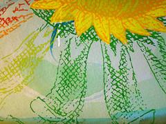 DSC0966898 (scott_waterman) Tags: scottwaterman painting paper ink watercolor gouache lotus lotusflower detail