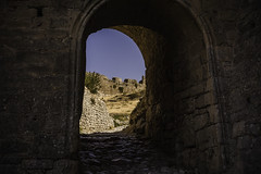 gate.. (ckollias) Tags: acrocorinth ancient ancientcivilization ancienthistory arch architecture builtstructure castle castleruin castlewalls clearsky cultures day fort gate greece history outdoors medieval nature nopeople oldruin sky travel traveldestinations