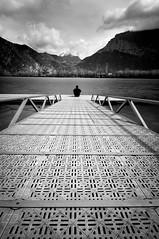 Barrage (Pierrotg2g) Tags: paysage landscape nature isère dauphiné grenoble nikon d90 tokina 1228 pdc dof nb bw rivière river lac lake
