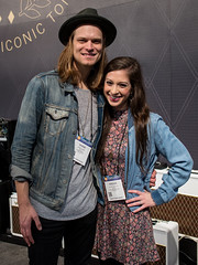 Shane Henry & Maggie McClure at NAMM 2017 #1 (jus10h) Tags: maggiemcclure shanehenry winter namm show 2017 anaheim marriott stage live concert gig showcase performance artist singer songwriter orangecounty losangeles oc la nikon d610 photography justinhiguchi