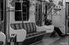 A peaceful ride (gunman47) Tags: 2016 asia b bw korail korea korean metro metropolitan mono monochrome october rok railway republic seoul sepia south w black class line photography sleep street subway tired train white worker working 과로사 서울 수도권전철 southkorea