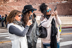 Selfies (Stefan Schafer) Tags: d750 nikon hooverdam people places street nevada women selfie posing smiling candid streetphotography