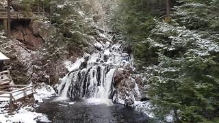 Joseph Howe Falls video (Winter)