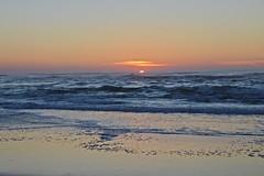 DSC_4239 (mrsdyvz) Tags: sun portugal aveiro nikon d3200 sundown portrait model beach sand sea ocean water waves glasses rock silhouttes horizon harmony sky blue clouds costa nova praia