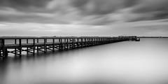 Pier Essence - Melbourne City Pier (josesuro) Tags: fineart afsnikkor1835mmf3545ged jaspcphotography floridaeastcoast 2016 longexposure florida digital piers bw nikond750 melbourne landscapes