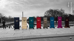 """Do Not Normalize"" ―Beau Willimon 🎨 (anokarina) Tags: dc thedistrict winter clouds protest art nationalmall lincolnmemorial washingtonmonument iphone snapchat colorsplash nobannowall dumptrump resist lorddampnut fightfascism monumentalcore washington districtofcolumbia dcist instagram"