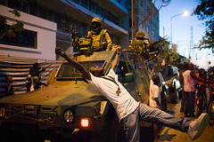 Foreign troops roll into Gambia (jeromestarkey) Tags: banjul ecowas gambia senegal soldiers statehouse