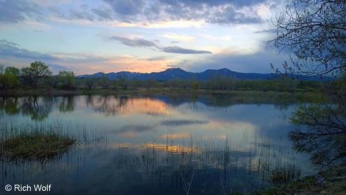 Photo - Sunset at Sawhill Ponds - City of Boulder Open Space and Mountain Parks