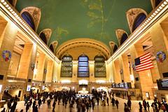 Grand Central (Daniel_Robinson) Tags: new york newyork 911 memorial rockefeller rockefellercentre grandcentral thebigapple empirestatebuilding radiocity musichallskylineyellow taxitime lapsetop rocknikonnikon d7200