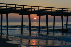 Beach Sunrise (PMillera4) Tags: beachsunrise beach sunrise avalonnj newjersey jerseyshore fishingpier