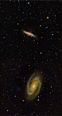 M81-60x300s-M82-58x300s-T3-mosaic (michael.hultstrom) Tags: m82 mess messier object gala galaxy nebulosity nebula pixinsight astro astrophotography astrophoto