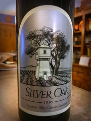 Sometimes One Needs to Quit Waiting for a Special Day... (simbajak) Tags: red wine cabernet 1999 sauvignon silver oaks alexander valley california happy birthday bottle