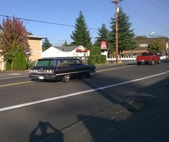 Chevrolet Impala (Bobby Jimmy JR) Tags: 1960s 60s 63 1963 gm general motors generalmotors chevrolet chevy impala station wagon stationwagon nfessenden north portland oregon northportland st johns stjohns saintjohns 97203 503 ptown pdx pacific northwest pacificnorthwest pnw driving street classic original