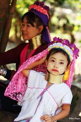 0S1A1411 (Steve Daggar) Tags: thailand chiangmai culture portrait costume longneck karinlongneck hilltribe candid