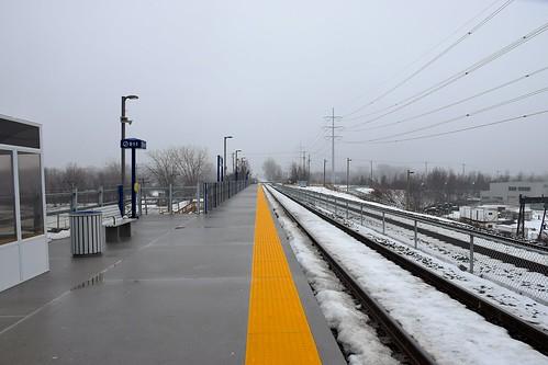 East track platform