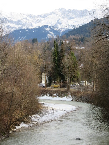 Germany - Bavaria - Garmisch-Partenkirchen - Partenkirchen - River