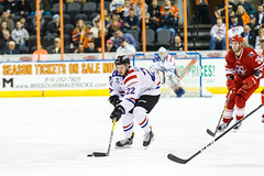 "Missouri Mavericks vs. Allen Americans, March 3, 2017, Silverstein Eye Centers Arena, Independence, Missouri.  Photo: John Howe / Howe Creative Photography • <a style=""font-size:0.8em;"" href=""http://www.flickr.com/photos/134016632@N02/33117919102/"" target=""_blank"">View on Flickr</a>"
