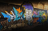 Palma Underground Artist (buddah1888) Tags: canon400d niksoftware palma palmamarina underground bridge artist street vibrantcolour grad doublegrad majorca ballearics buddah1888 dockside eos harbour holiday sigma vividandstriking vibrant expression