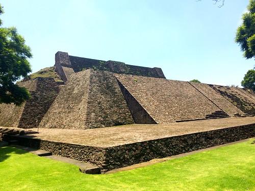 Pirámide de Tenayuca, México.
