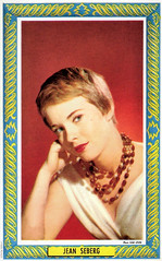 Jean Seberg (Truus, Bob & Jan too!) Tags: cinema film vintage movie star glamour kino european sam jean postcard picture cine screen american hollywood idol actress movies postal postale cartolina carte levin allure seberg jeanseberg postkarte filmstar stanne ansichtskarte ansichtkaart postkaart briefkaart tarjet lvin briefkarte samlvin