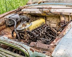 Powered Down (augphoto) Tags: old abandoned minnesota yellow unitedstates decay engine rusty weathered motor alborn augphotoimagery