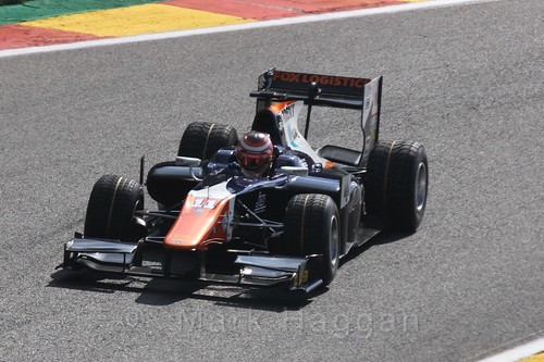 Raffaele Marciello in qualifying for the 2015 Belgium Grand Prix