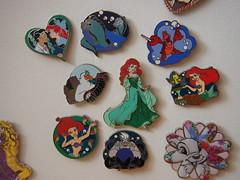 Meine Ariel-Pins (sh0pi) Tags: ariel pin princess little disney mermaid disneystore arielle kleine anstecknadel meerjungfrau