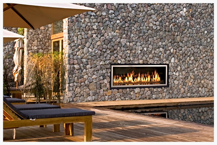 Town & Country TC54WS Outdoor Fireplace