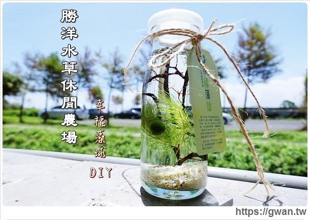 [宜蘭景點●員山]  勝洋水草休閒農場–幸福藻球DIY+無菜單水草創意料理♪電影渺渺拍攝場景(可攜寵物♥)