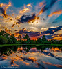 Daily Reflection (DonMiller_ToGo) Tags: sunset sky panorama lake nature reflections landscape florida sunsets panoramic g5 skyscapes hdr goldenhour onawalk skycandy 5xp hdrphotography 5exposures hdrpanoramic millerville sunsetmadness sunsetsniper panoimages3