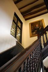 New Place & Nash's House (mademoisellelapiquante) Tags: uk england architecture shakespeare tudor staircase warwickshire stratforduponavon newplace midlands nashshouse newplaceandnashhouse