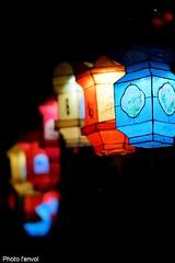 Lanternes chinoises (photolenvol) Tags: lanterne eau montreal lumiere nuit lanternes jardinbotanique